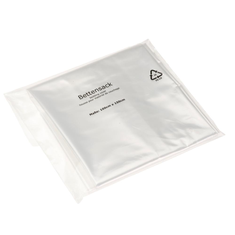 Bettwäsche und andere Textilien können Sie bei der Lagerung und beim Transport gut mit einem Bettensack vor Verschmutzungen und Beschädigungen schützen.